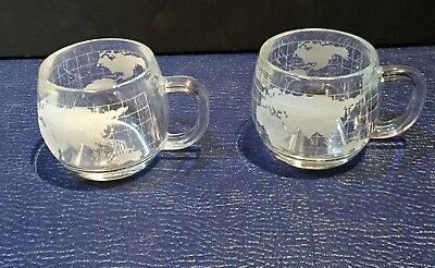 NESCAFE COFFEE CUPS GLOBE DESIGN Instant Coffee Promotional Items