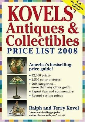 Kovels' Antiques & Collectibles Price List 2008: The Bestselling Price-ExLibrary
