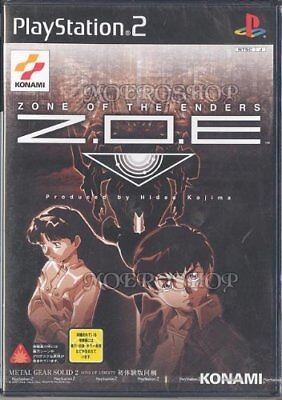 USEDGAME PS2 ZOE Zone of the enders metal gear solid demo