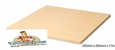 Vintage Gourmet TM 12 Inch Square Corderite Pizza Baking Stone