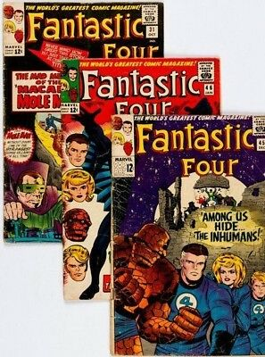 Fantastic Four #45 only (1965) Condition:gd. First appearance of the Inhumans.