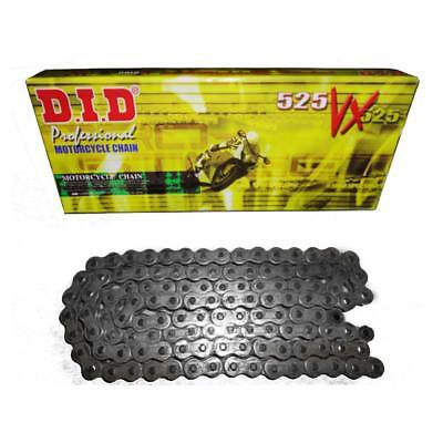 Did Heavy Duty X-Ring Motorcycle Drive Chain 525 Vx 120 Links  D.i.d.plain