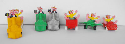 PINK PANTHER set 2 lot of 7 cool items must have bully cars trains plane L@@K