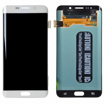 LCD Screen Display Touch Digitizer Assembly Samsung Galaxy S6 Edge Plus White