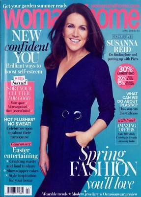 Woman & Home Magazine Issue April 2018 ~ Susanna Reid Cover & Interview ~ New ~
