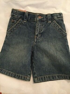 NEW LOT of 2 OshKosh B'gosh Toddler Boys Carpenter Shorts (3T) & Jeans (24M)