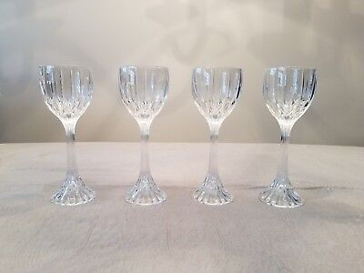 Mikasa Park Lane Crystal Hock Wine  Glasses (Set of 4) - Retired