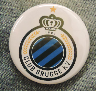 Pin Button Badge Ø38mm  Club Bruges