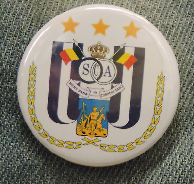 Pin Button Badge Ø38mm  RSC Anderlecht