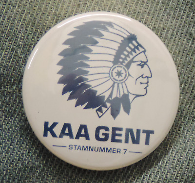 Pin Button Badge Ø38mm  KAA La Gantoise