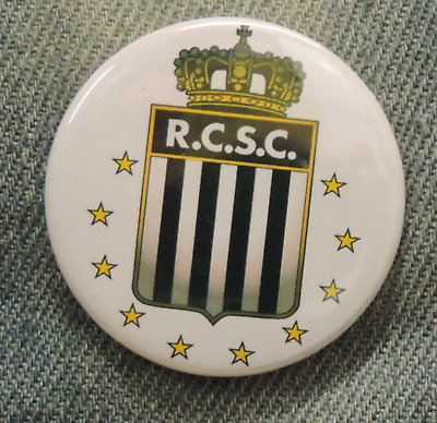 Pin Button Badge Ø38mm  Sporting de Charleroi