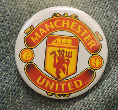 Pin Button Badge Ø38mm  Manchester United