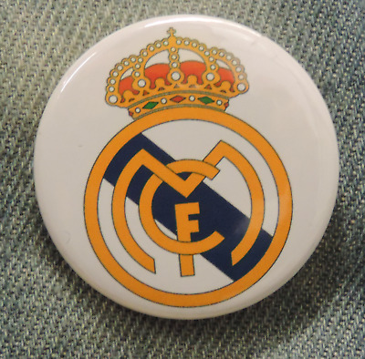 Pin Button Badge Ø38mm  Real Madrid