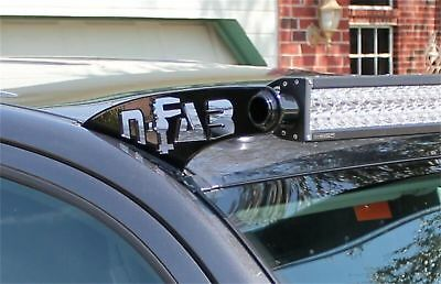 N-FAB Roof Mounts 49 Series Textured Black For 05-15 Toyota Tacoma T0549LR-TX