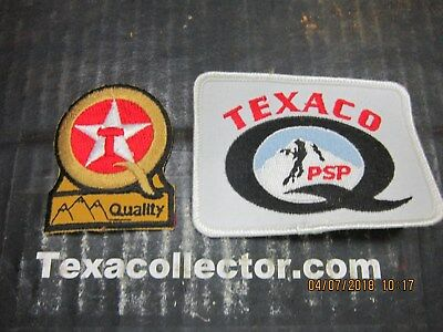 Texaco Patch # 831 Puget Sound Lot of 2