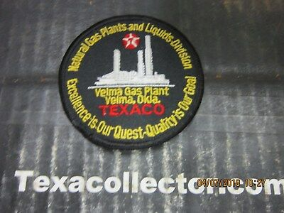 Texaco Patch # 837 Velma Gas Plant