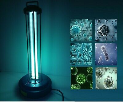 120v Ultraviolet Sterilizing Lamp Light Kill Virus Bacteria Mites Germ Healthy