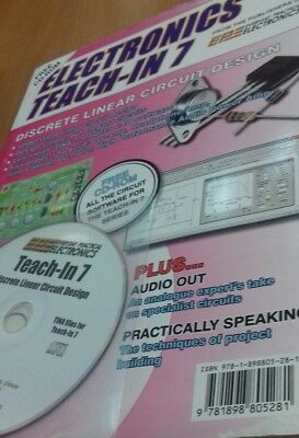 Electronics Teach-In 7 with free cd-Rom by Wimborne Publishing New Book