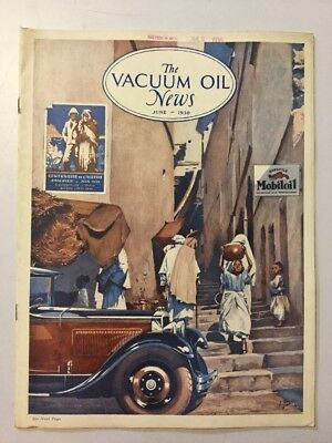 VACUUM OIL NEWS SOCONY Mobiloil MOBIL OIL GAS NYC June 1930