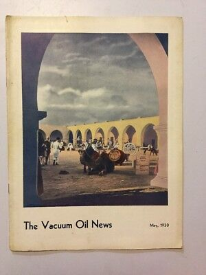 VACUUM OIL NEWS SOCONY Mobiloil MOBIL OIL GAS NYC May 1930