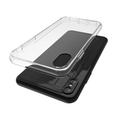 LOT Case For iPhone X 8 7 6s Plus 5 Soft Clear Silicone Slim Transparent Cover