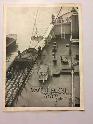 VACUUM OIL NEWS SOCONY Mobiloil MOBIL OIL GAS NYC September 1929