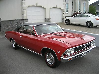 1966 Chevrolet Chevelle SS 1966 CHEVROLET CHEVELLE SS RARE L78 4SD DOCUMENTED BUICK OLDS FORD PONTIAC