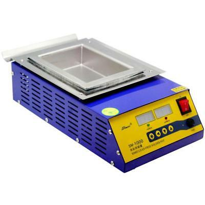 New LEAD-FREE Digital Soldering Pot 1000W compact 397Lx205 for ESD Soldering USA