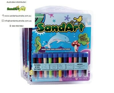 Sand Art - Gift Pack - Ideal for kids parties(14 different packs to choose from)