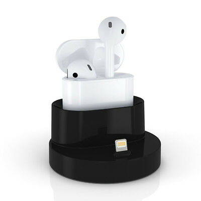 Airpods Case Charging Stand Portable 2 in 1 Charger Dock For Apple Airpod Case