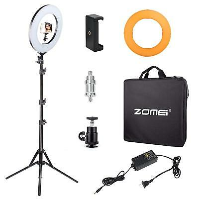"""ZOMEI 14"""" 35W LED Ring Licht dimmbare beleuchtung Ring Light für Make-up Kamera"""