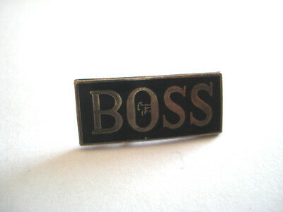 Pins Rare The Boss Le Patron Entreprise Humour