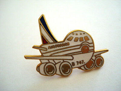 Pins Rare Aviation Boeing Avion Air France B747