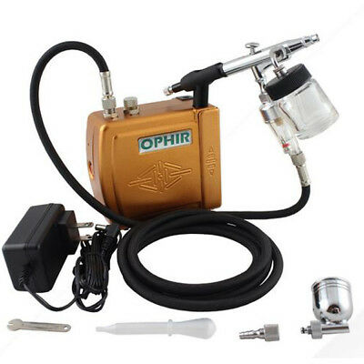 Ophir Mini Airbrush Kompressor turtle pump set TATTOO machine