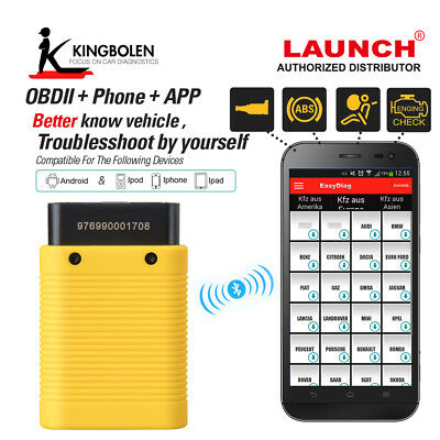Launch X431 Easydiag 3.0 OBDII/EOBD Code Reader Auto Scanner for Android
