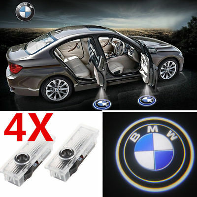 2/4 CREE LED Door lights BMW Projector Courtesy Puddle Shadow Laser Lamps Logo