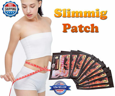 200 Lot Fast Acting Weight Loss Slim Patch Burn Fat Cellulite Diet Slimming Pad