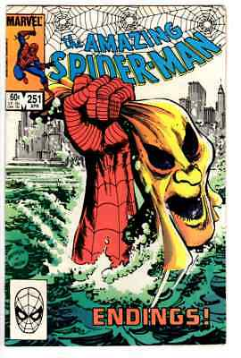 Amazing Spider-Man 251 Very Fine / Combined Shipping