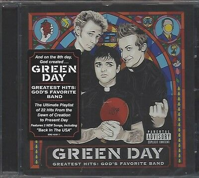 Green Day / Greatest Hits : God's Favorite Band * New Cd 2017 * Neu *