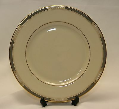 Lenox McKinley Presidential Collection Salad Plate Gray Band 24 kt. Gold Rims