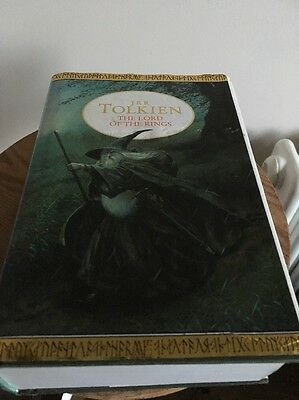 Jrr Tolkien Lord Of The Rings All 3 Books In One Volume Hardback 1994