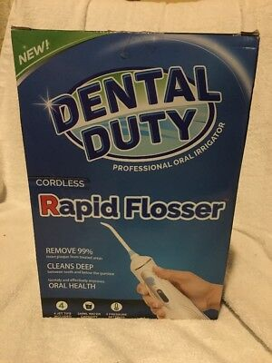 Professional Dental Water Flosser - Rechargable and Cordless - Oral irrigator