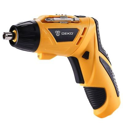 Cordless Electric Screwdriver Household 3.6V Lithium Ion Rechargeable Power