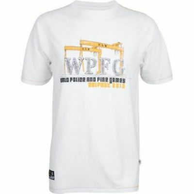JOB LOT OF 10 WPFG T SHIRTS World Police & Fire Games