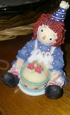 Raggedy Ann & Andy Collectible Figurine (ENESCO) - Raggedy Ann 💙