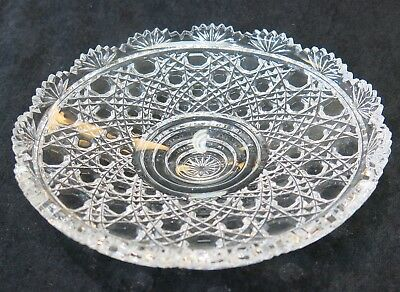 "Epergne Crystal Replacement Bowl. 7"" diameter. Others Available."
