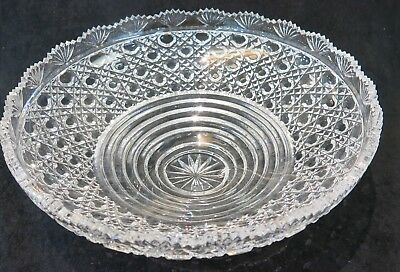 "Epergne Crystal Replacement Bowl . 10.75"" Diameter"