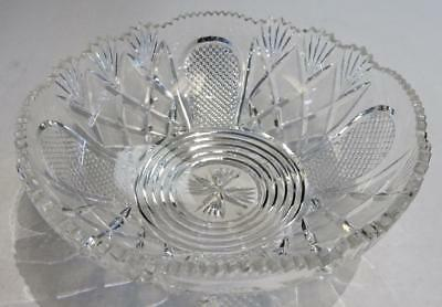 """Epergne Replacement Crystal Bowls.10.75"""" . OTHER SIZES & STYLES AVAILABLE"""