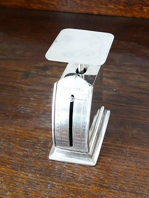 Kleine Briefwaage Silber, Antique Silver Letter Scale