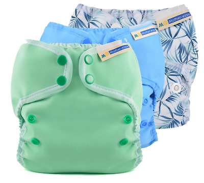 Mother-Ease Wizard Duo Adjustable Cover, Reusable Nappy Wrap Cover